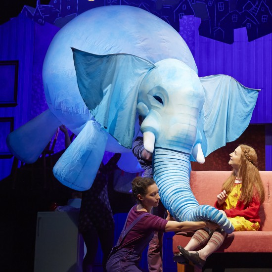 THE ELEPHANTOM New London Theatre Cast 2014/15